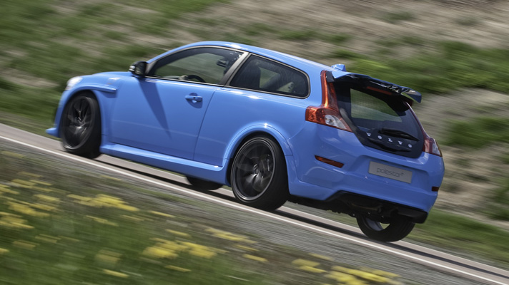 And this – eventually, you're saying – brings me onto the Volvo C30 Polestar